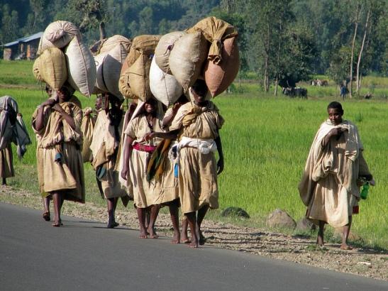 women heavy loads