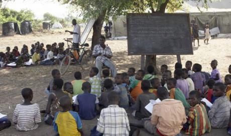under-tree classrooms