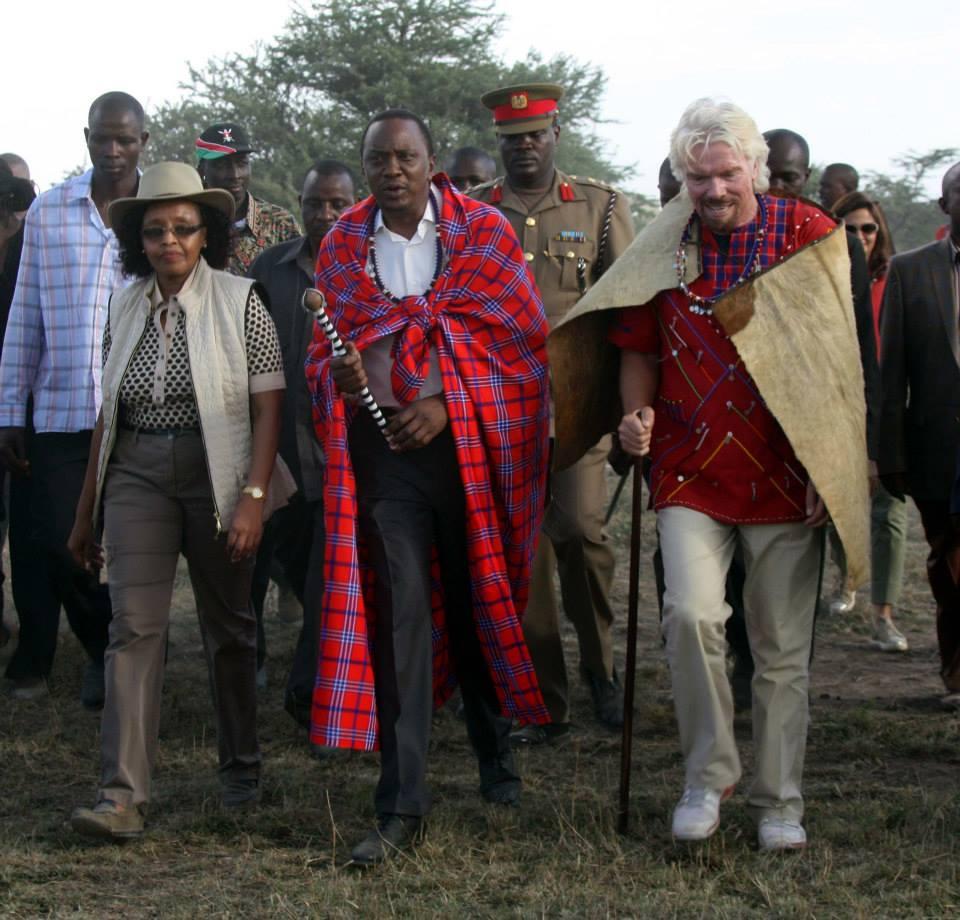 Kenyatta + Branson