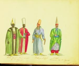 The Kızlar Ağası, head of the black eunuchs of the Ottoman Imperial Harem. The title literally means