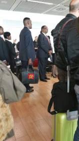 Mutharika Waiting in a queue