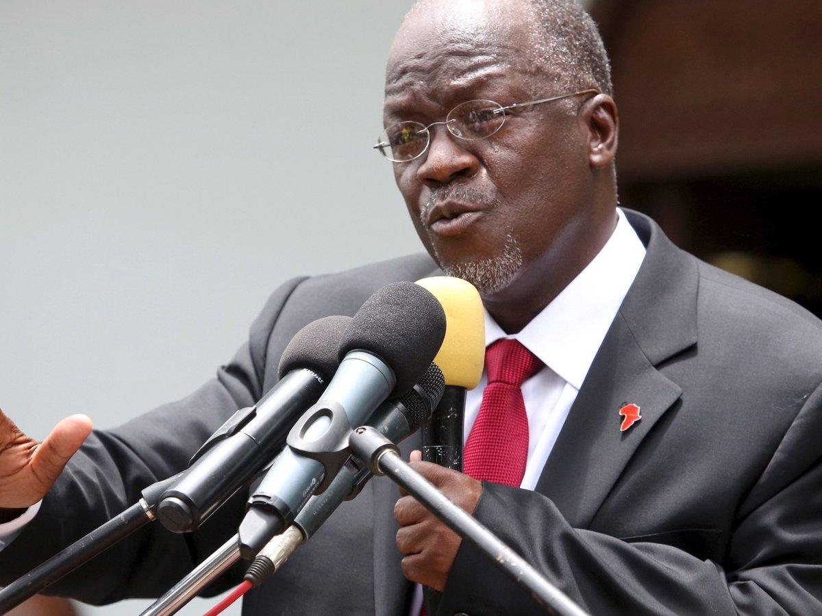 President of Tanzania John Magafuli